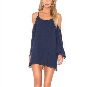 LOVERS+FRIENDS NAVY DRESS. RUSH WEEK OUTFIT